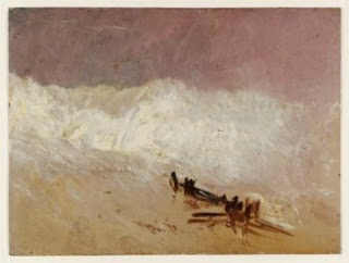 http://www.wikipaintings.org/en/william-turner/shore-scene-with-waves-and-breakwater-1835