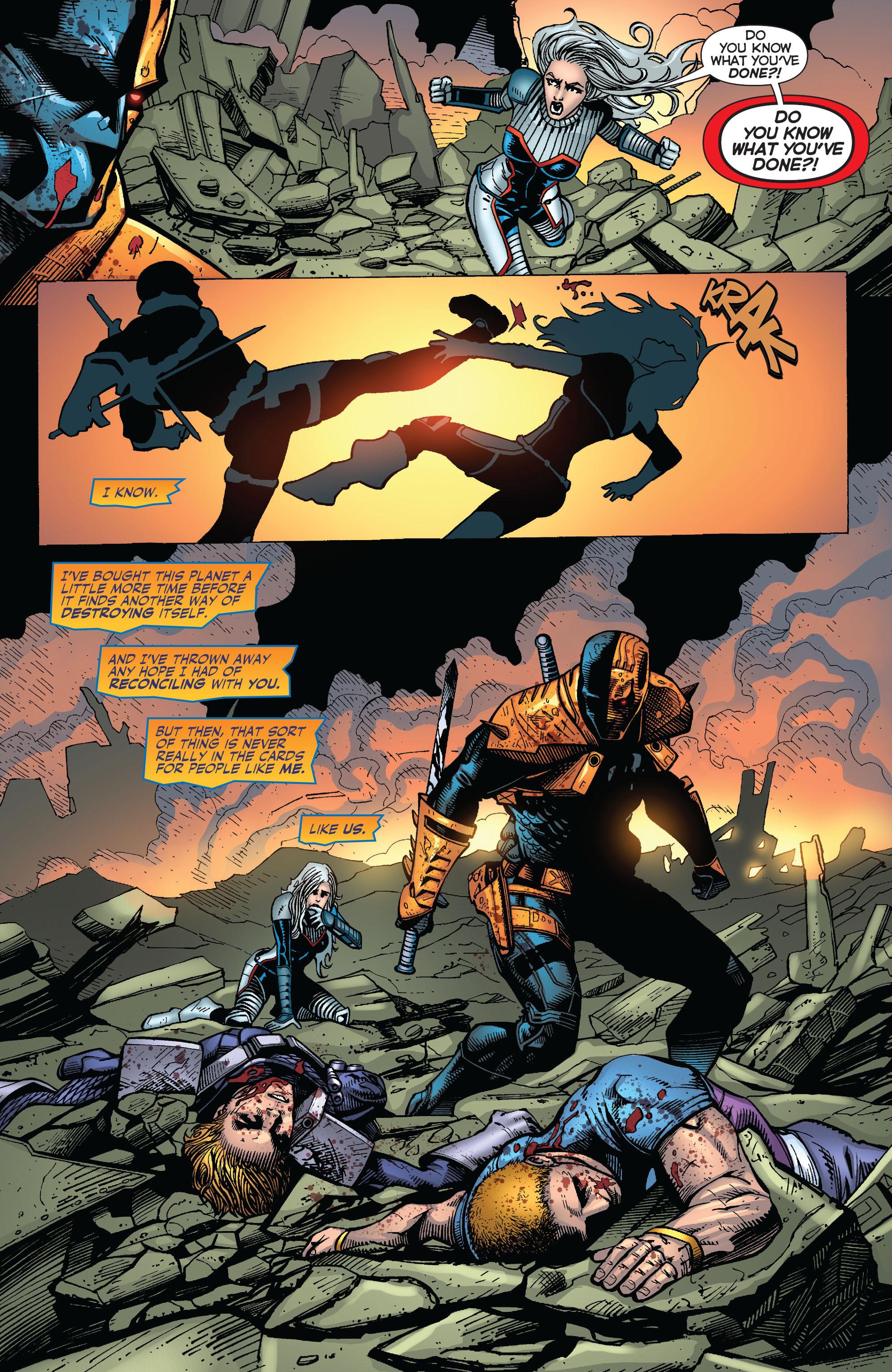 Deathstroke (2011) Issue #20 #21 - English 20