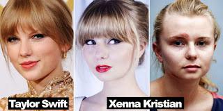 Ditendang Wajahnya Gara-Gara Mirip Artis Taylor Swift