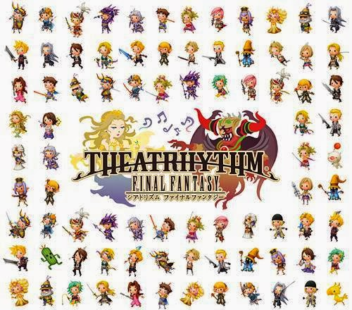 capa Game Music – Theatrhythm Final Fantasy Compilation Album