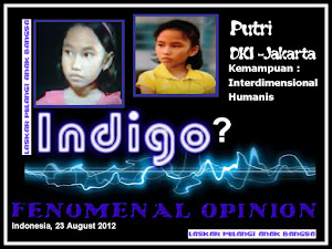 ANAK INDIGO 38 ( VERSI PUTRI -DKI JAKARTA )