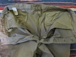 1945's 1WASH 紙TAG付き UNUSUAL(大戦中の為) CHINO PANTS      34×28