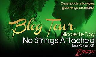 Nicolette Day's No Strings Attached Blog tour