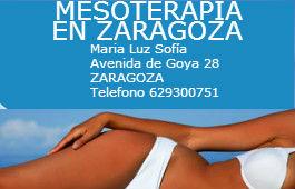 Mesoterapia en Zaragoza