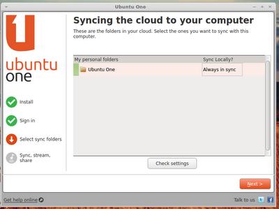 Install ubuntuone di linuxmint 13 Maya