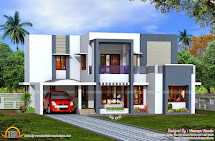 Kerala Flat Roof House Design