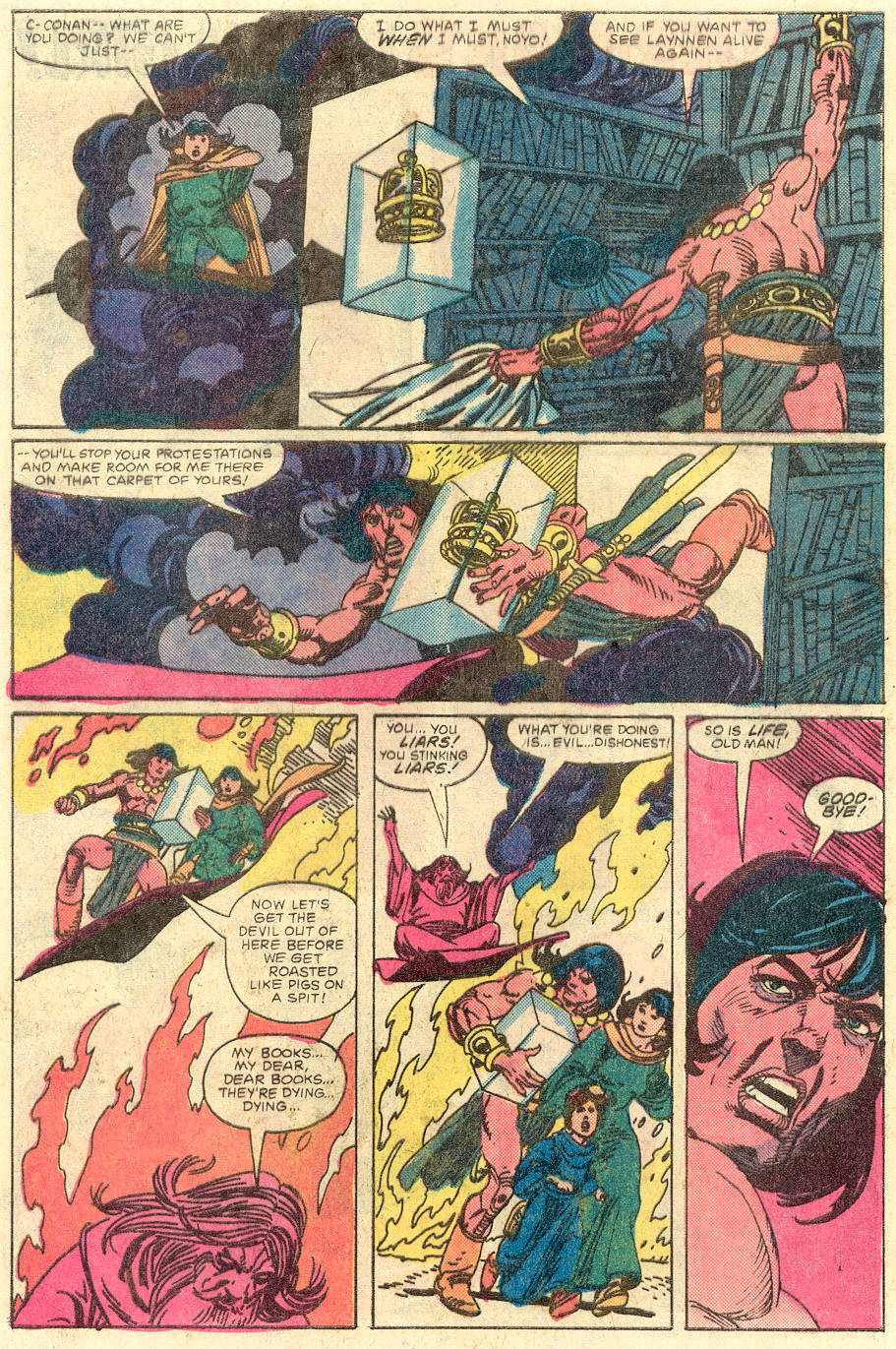 Conan the Barbarian (1970) Issue #129 #141 - English 21