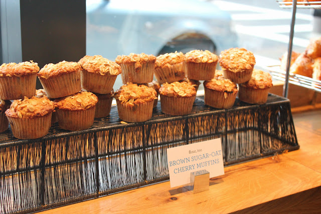 Muffins at Flour, Too cookbook launch party