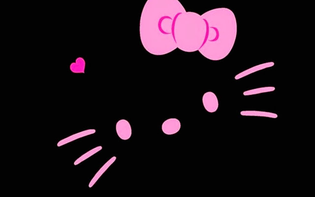 109023-Black Hello Kitty HD Wallpaperz