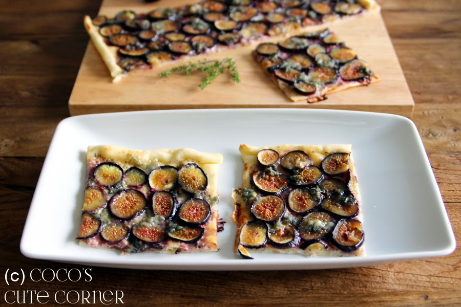 Pizza with Figs and Gorgonzola