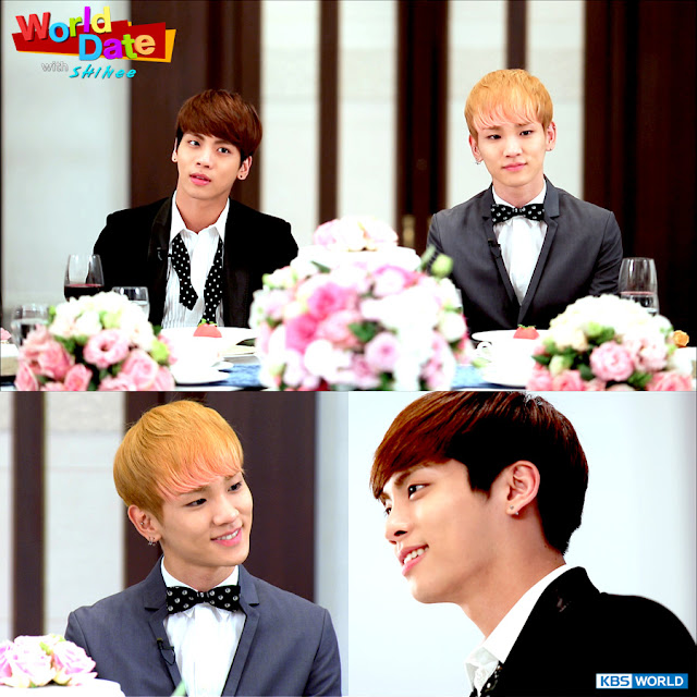 Watch World Date with SHINee Episode 3 with English subs.