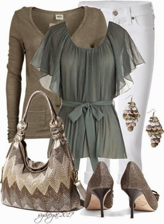 Spring Outfit Set Ideas.
