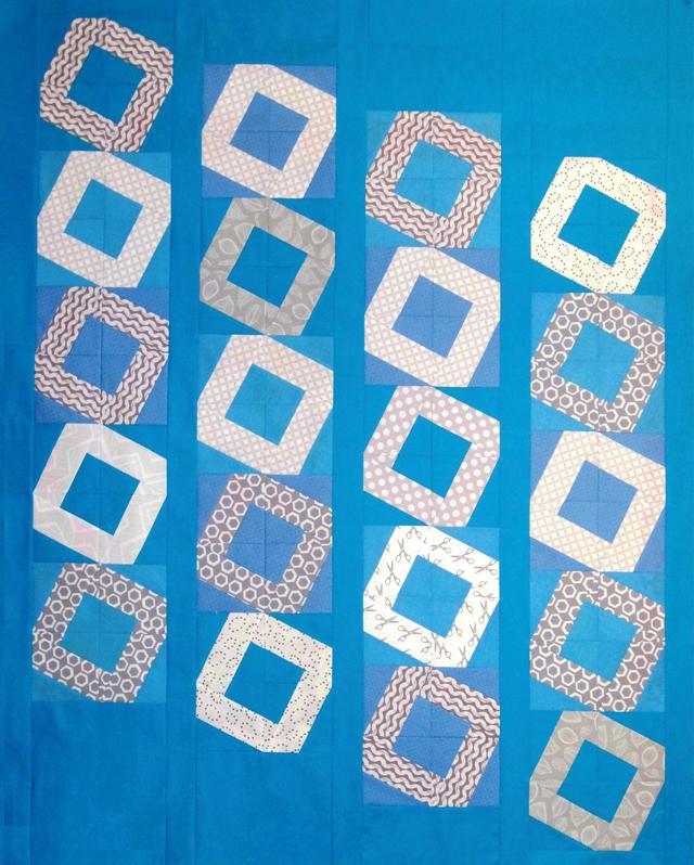 Baby O Quilt - BasiX Template - Modern Quilt Movement