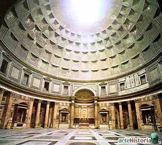 Arquitectura Romana - Parte 2, Panteón de Adriano, Panteon Romano, Lugares Turisticos en Roma, Que visitar en Roma, Que ver en Roma, Turismo en Roma, Historia y Turismo en Roma,