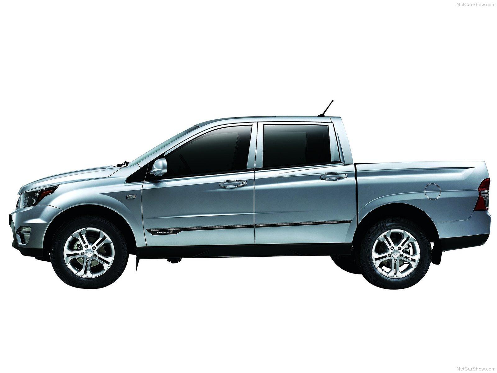 Hình ảnh xe ô tô SsangYong Actyon Sports 2013 & nội ngoại thất