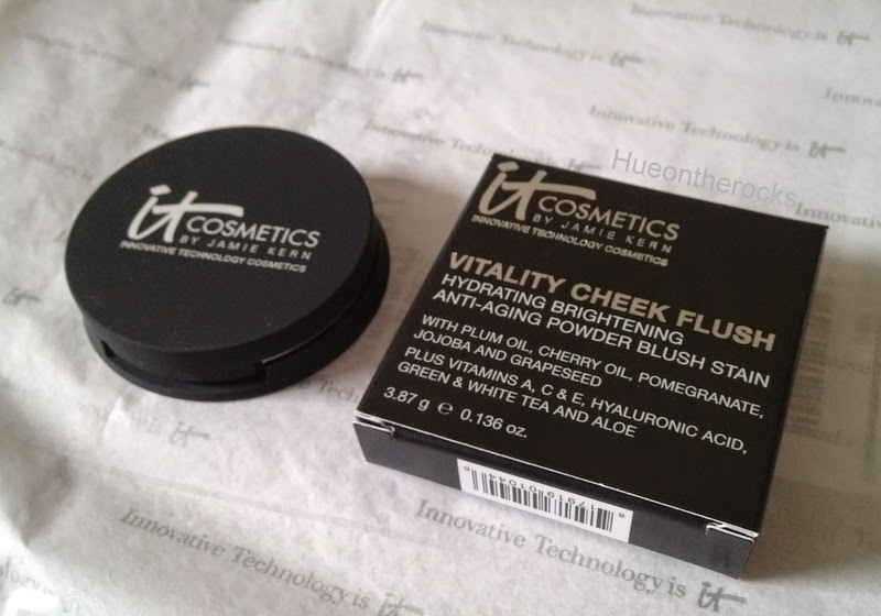 itCosmetics vitality cheek flush matte sweet apple