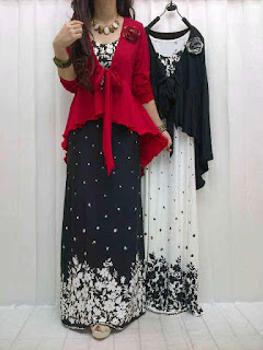 Gamis Jersey + Cardi fit to L