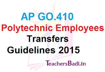 GO410,Polytechnic Employees,Transfers Guidelines