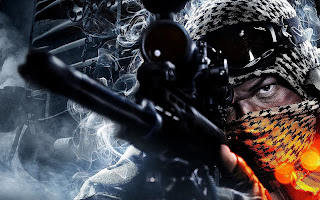 Battlefield Game HD Sniper Wallpaper