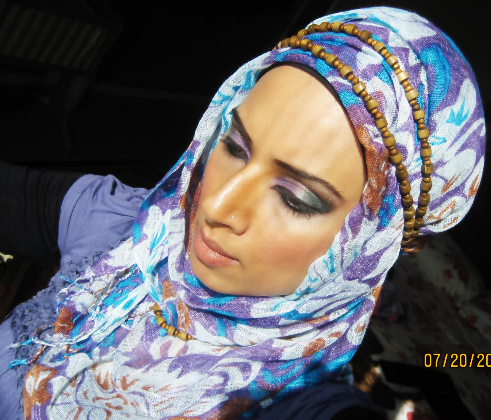 Hijab Styles by Saman - Asian Wedding Ideas