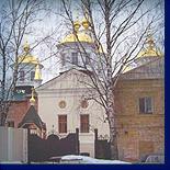 рядом с родной политеховской общагой возрождён древний крестовоздвиженский монастырь!