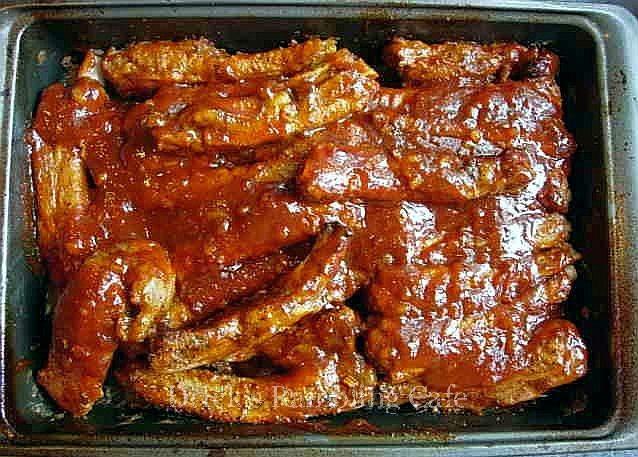 Smokey Oven BBQ Pork Ribs | Drick's Rambling Cafe