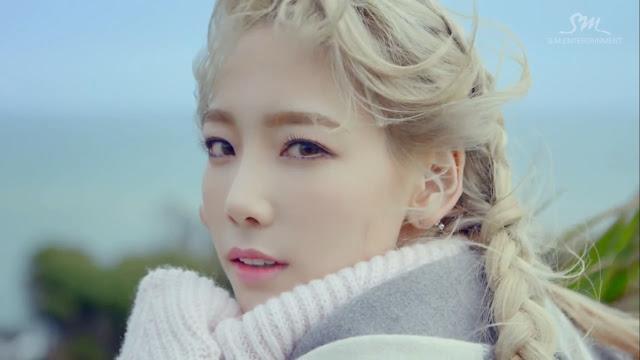 snsd taeyeon braid hair style