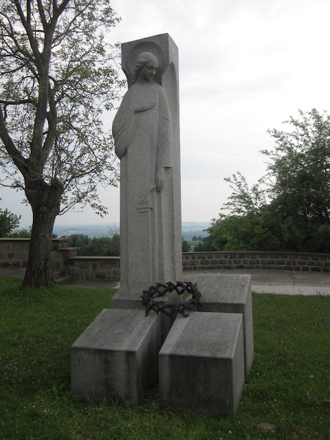 Ukraine's Monument, Mauthausen Concentration Camp, Vienna / SouvenirChronicles.blogspot.com