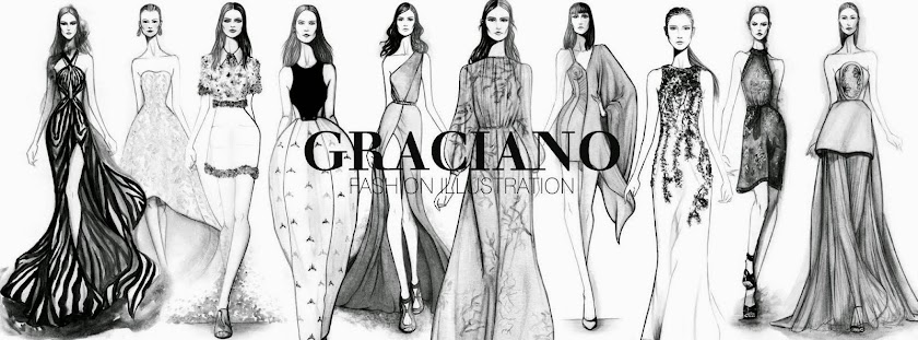 GRACIANO fashion illustration