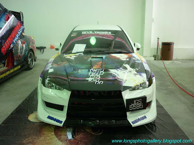 Itasha Waja Evolution X