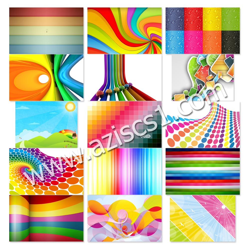 Gratis 15 background warna-warni - Blog azis Grafis