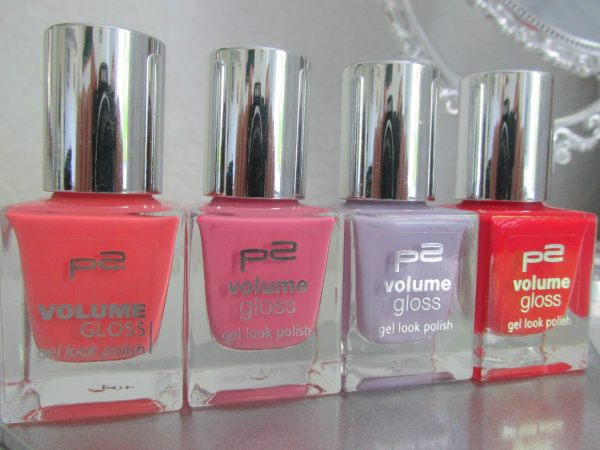Apricot 060 Happy Bride / Rosa 040 Lovely Beauty / Flieder 030 Sweet Darling / Rot 080 Grande Dame