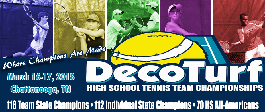 DecoTurf High School Tennis Team Championships Blog