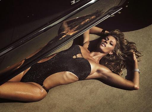 Gisele Bundchen goes topless for Lui Magazine June 2014 photo shoot