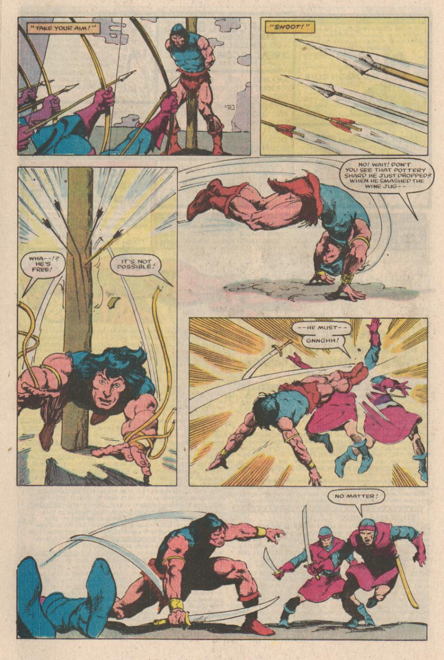 Conan the Barbarian (1970) Issue #166 #178 - English 18