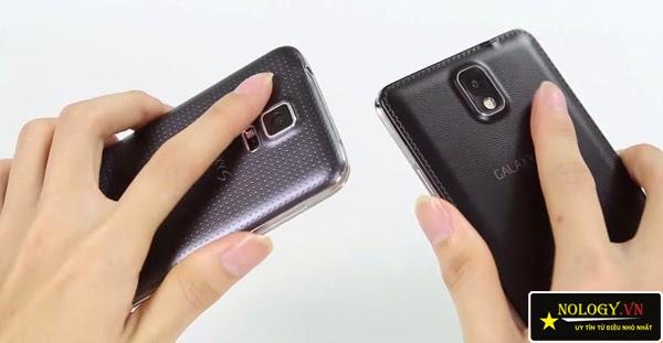 So sánh chi tiết Samsung Galaxy Note 3 cũ và Samsung Galaxy S5 Au.