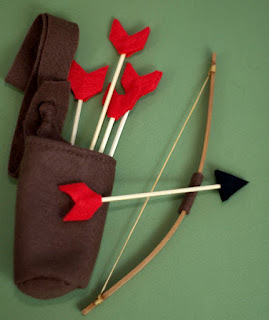 archery doll set
