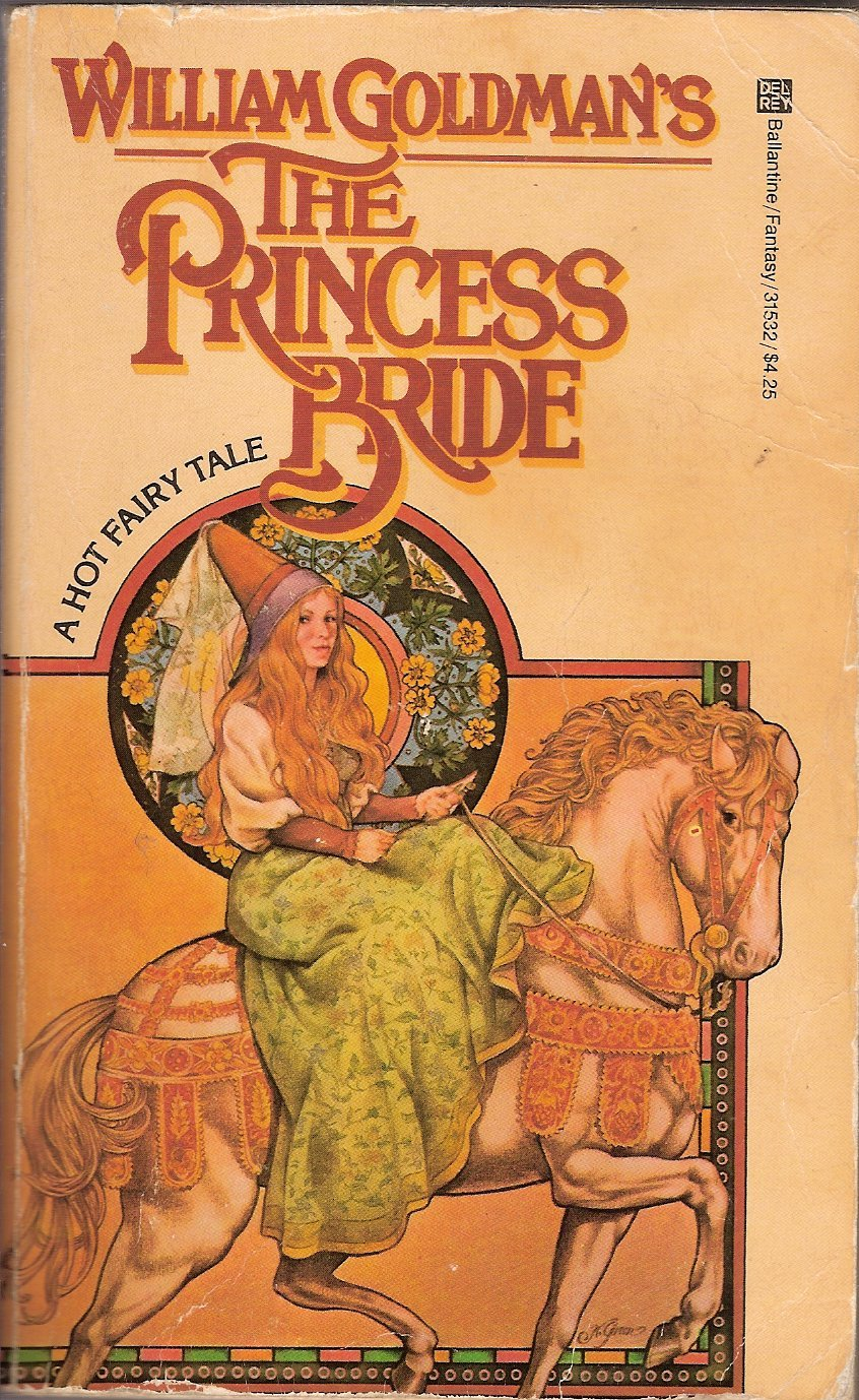 a comparison of the book and the movie the princess bride Fast-paced fun, but more intense than the movie read common sense media's the princess bride review, age rating, and parents guide.