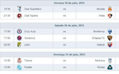 Jornada 1 Liga MX