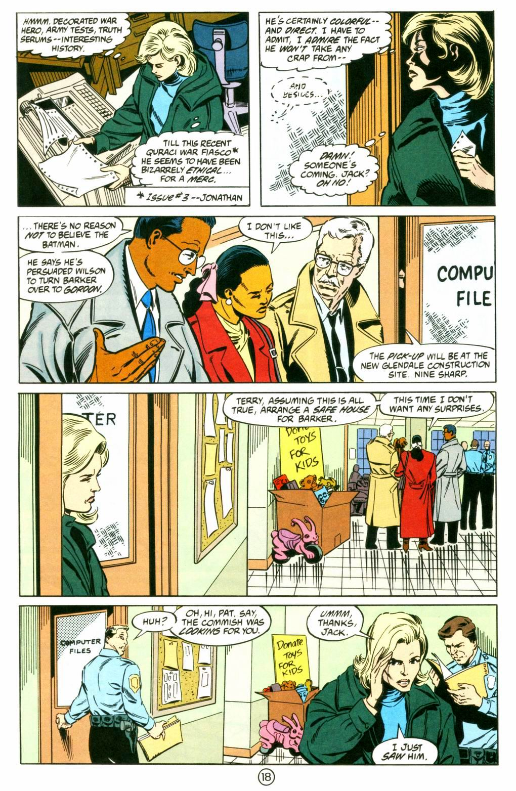 Deathstroke (1991) Issue #8 #13 - English 18
