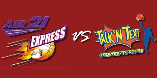 PBA Macth Air21 Express vs Talk 'N Text Tropang Texters Live Stream February 15, 2013