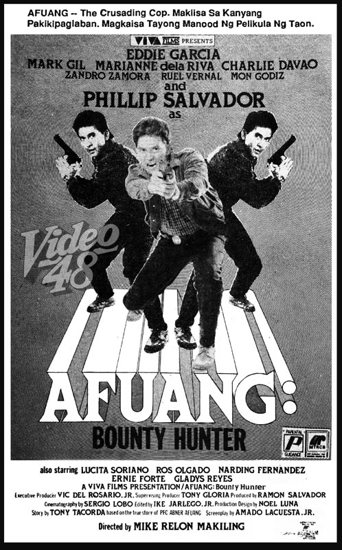 "Left- ""Afuang: Bounty Hunter"" (1988)- Stars Phillip Salvador, Eddie"