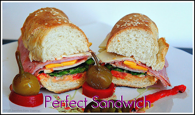 Delicious any time of the day Perfect Sandwich