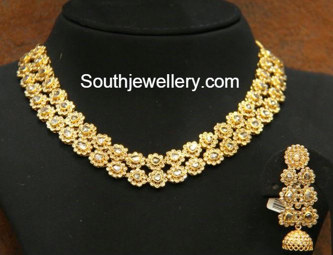 uncut diamond necklace ,models