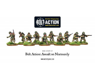 Bolt Action Assault on Normandy Starter Set, US Army Infantry