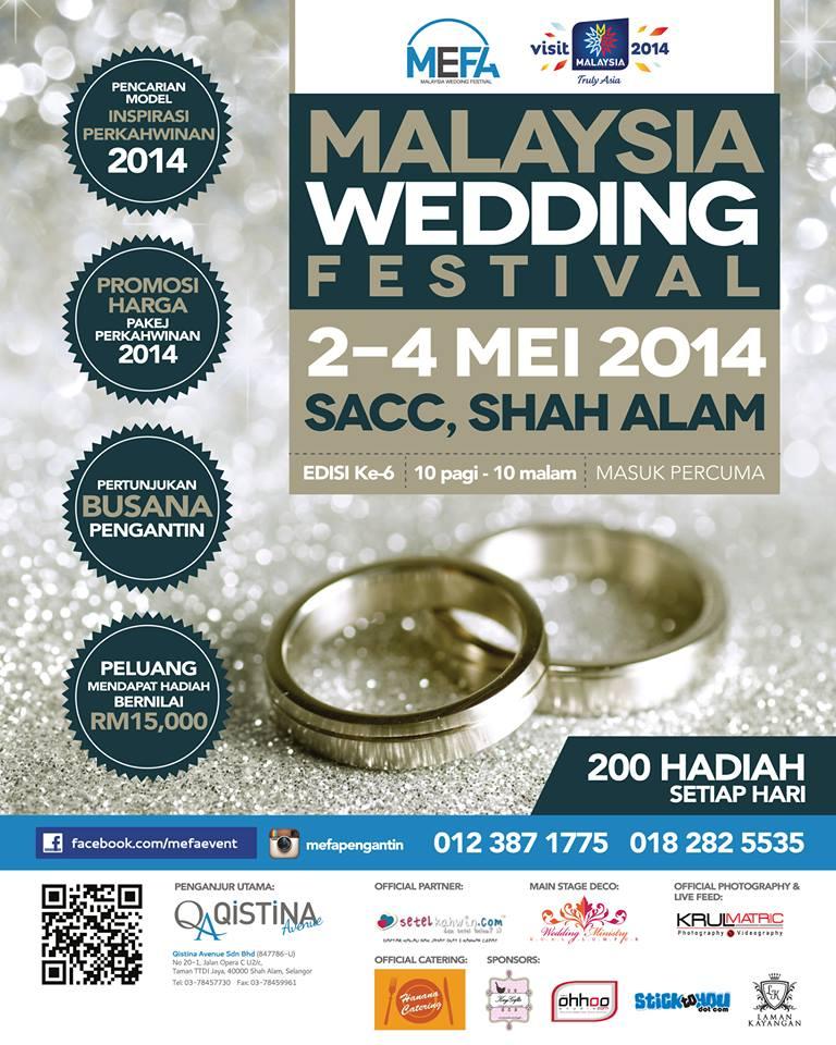 MEFA Malaysia Wedding Festival
