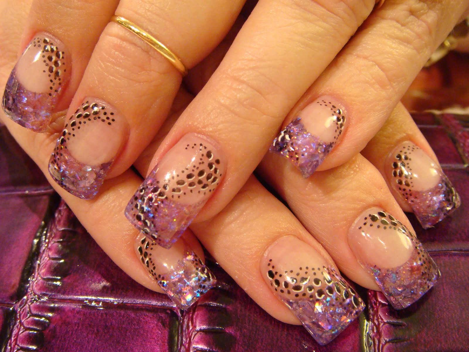 cute acrylic nail designs - photo #45