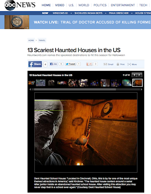 Abc News Names Dent Top Scariest The Dent Schoolhouse