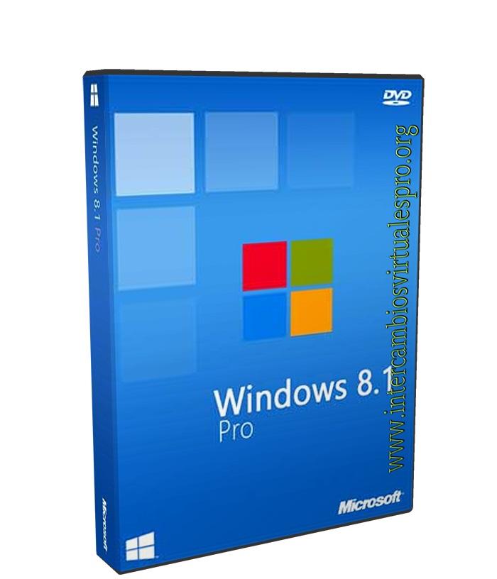Microsoft Windows 8.1 Professional poster box cover