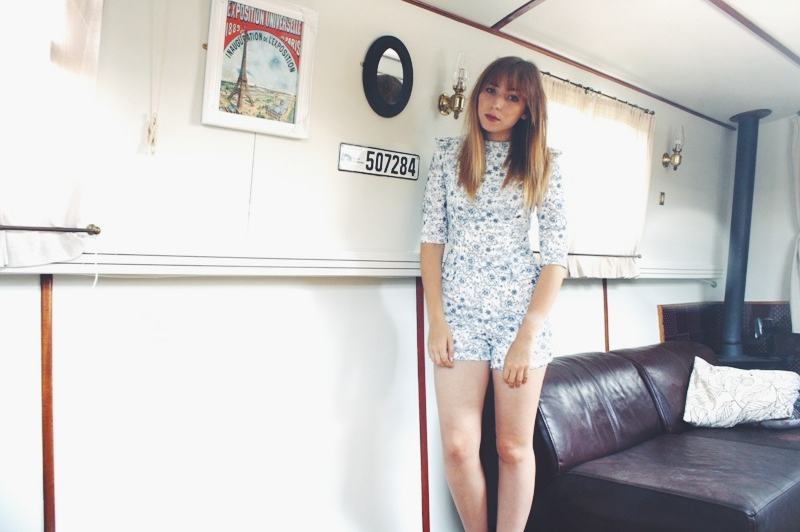 The Fashion Diaries | What I Wore | Lavish Alice Playsuit
